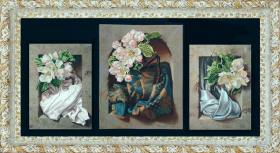 Схема вышивки бисером на ткани Вдохновение 3, , 180.00грн., Р-51210, Краса и творчiсть, Картины из нескольких частей