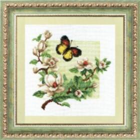 Набор для вышивания в смешанной технике Дыхание весны, , 186.00грн., №323, Чарiвна мить (Чаривна мить), Цветы