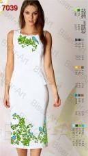 Заготовка женского льняного платья для вышивки бисером Biser-Art Bis7039