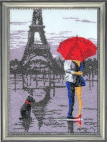 Набор для вышивки бисером Париж для двоих, , 475.00грн., 481Б, Баттерфляй (Butterfly), Собака символ 2018 года своими руками