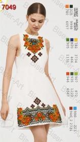 Заготовка женского льняного платья для вышивки бисером Biser-Art Bis7049 - 400.00грн.