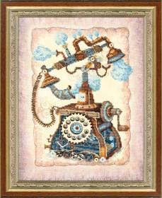 Набор для вышивания в смешанной технике  Ожидание звонка Чарiвна мить (Чаривна мить) РК-085 - 319.00грн.