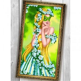Схема для вышивки на габардине Весна Biser-Art 30Х60-014 - 130.00грн.