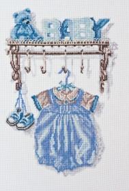 Набор для вышивки крестом Малыш. Мальчик Абрис Арт АН-051 - 259.00грн.