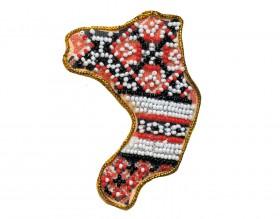 Набор - магнит для вышивки бисером Ровенская Область, , 56.00грн., АМК-017, Абрис Арт, Украина
