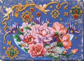 Набор для вышивки бисером Волшебные цветы Абрис Арт АВ-813 - 662.00грн.