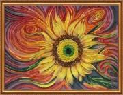 Набор для вышивки бисером Солнцебиение