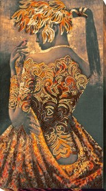 Набор для вышивки бисером Золото ночи Абрис Арт АВ-690 - 494.00грн.