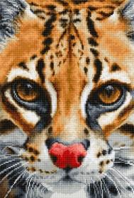 Набор для вышивки крестом Leopardus pardalis