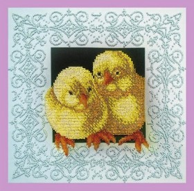 НаборЦыплята для вышивки бисером Цыплята