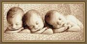 Набор для выкладки алмазной мозаикой Малыши