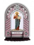 Набор для вышивки иконы с рамкой-киотом Господь Иисус Христос
