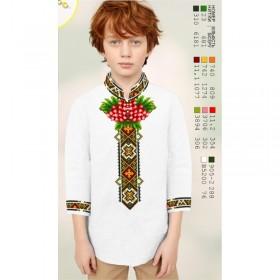 Заготовка детской сорочки на белом габардине Biser-Art Bis12114 - 200.00грн.