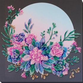 Набор для вышивки бисером Лунные цветы Абрис Арт АВ-825 - 459.00грн.