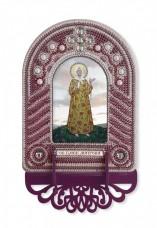 Набор для вышивки иконы с рамкой-киотом Св. Матрона Московская Новая Слобода (Нова слобода) ВК1022