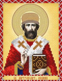 Схема вышивки бисером на атласе Святитель Филипп А-строчка АС5-152 - 34.00грн.