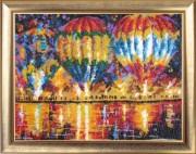 Набор для вышивки бисером Воздушные шары