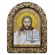 Набор для вышивки икон в рамке-киоте Христос Спаситель