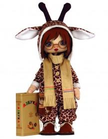 Набор для шитья куклы Премудрый Жираф Zoosapiens К1088Z - 525.00грн.