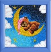 Схема для вышивки бисером на атласе Спокойной ночи