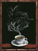 Набор для вышивки крестом Кофейная фантазия. Козерог 1