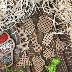 Набор заготовок для вышивки бисером по дереву FLSW-007