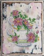 Набор для вышивания бисером Цветы 14