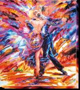 Набор для вышивки бисером В ритме танго