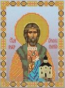 Схема вышивки бисером на атласе Св. Владислав