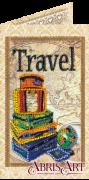 Набор-открытка для вышивки бисером Вокруг света