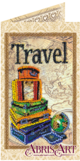 Набор-открытка для вышивки бисером Вокруг света Абрис Арт АО-147