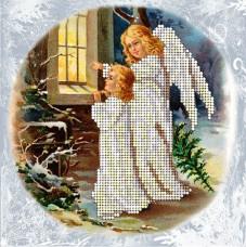 Набор для вышивки ювелирным бисером Рождественские истории 8 Краса и творчiсть 81114