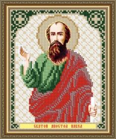 Схема вышивки бисером на авторской канве Святой Апостол Павел Art Solo VIA5308 - 25.00грн.