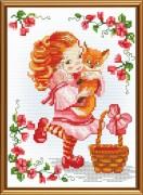Набор для вышивки крестом Рыженький любимчик