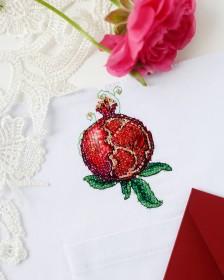 Набор для вышивки крестом на одежде Гранат - 1 Абрис Арт АНО-020 - 156.00грн.