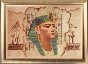 Схема для вышивки бисером на атласе Фараон