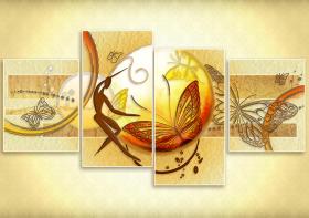 Схема для вышивки бисером на атласе Душа природы, , 394.00грн., АР2-011, А-строчка, Картины из нескольких частей
