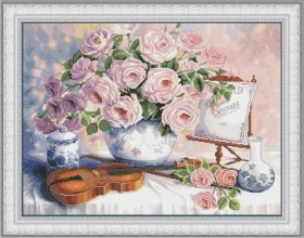 Набор для вышивки нитками Натюрморт со скрипкой OLANTA VN-077 - 539.00грн.