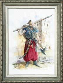 Набор для вышивки крестом Козак - победитель Чарiвна мить (Чаривна мить) РК-062 - 355.00грн.