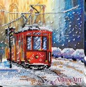 Набор-миди для вышивки бисером на натуральном художественном холсте Трамвай желаний