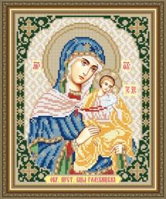 Схема вышивки бисером на авторской канве Голубицкая Образ Пресвятой Богородицы Art Solo VIA4271 - 45.00грн.