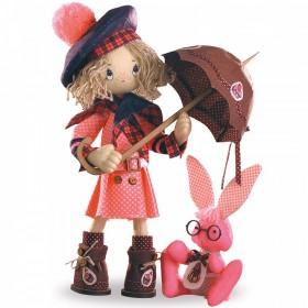 Набор для шитья куклы Шоколадница бэби, , 686.00грн., К1036, KUKLA NOVA, Наборы для шитья кукол