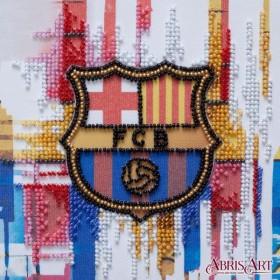 Набор-мини для вышивки бисером на натуральном художественном холсте ФК  Барселона Абрис Арт АМ-206 - 107.00грн.