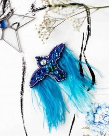 Набор для создания украшения Синяя птица