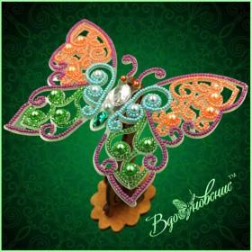 Набор для вышивки бисером Ажурная бабочка 3D 083