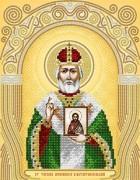 Схема для вышивки бисером на атласе Ст. Тарасий Архиепископ Константинопольский