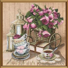 Набор для вышивки крестом Ароматный чай Новая Слобода (Нова слобода) СР3199 - 214.00грн.