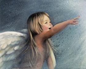 Набор для выкладки алмазной мозаикой Ангельский смех Алмазная мозаика DM-154 - 640.00грн.