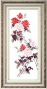 Набор для вышивки крестом Этюд с красными розами