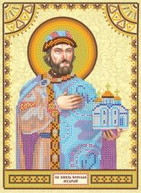 Схема для вышивки бисером Святой Ярослав